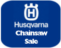 Husqvarna chainsaw sale