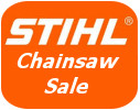 Stihl chainsaw sale